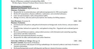 pharmacy technician resume hospital pharmacy technician resume what objectives to mention in