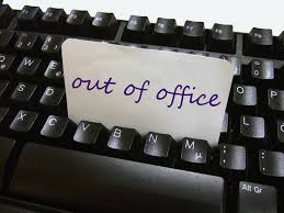 outlook message absence bureau 25 best out of office images on out of office message