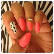 nail designs with rhinestones and crosses 5 imagesjordanisadore