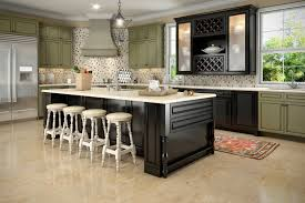 Black Distressed Kitchen Island by Sage Green Distressed Kitchen Cabinets Exitallergy Com