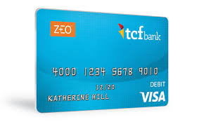 prepaid debit card tcf bank introduces zeo prepaid card and services for