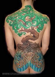 crucial studio maryland custom tattoos celtic tree
