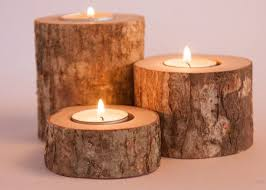 can you use tea light candles without holders 9 rustic candle holders tea light holder woodland wedding