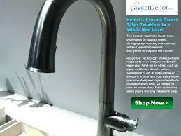 no touch kitchen faucet kohler touch kitchen faucet fashionable faucet fabulous faucet on