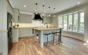 light grey kitchen cabinets with wood countertops wood kitchen countertops design ideas designing idea