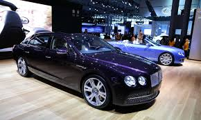 bentley continental flying spur blue 2014 bentley flying spur video preview new york auto show