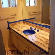 How To Paint A Vanity Top Best 25 Paint Countertops Ideas On Pinterest Painting