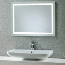 Illuminated Bathroom Mirrors Roper Beat Illuminated Led Bathroom Mirror With Integrated