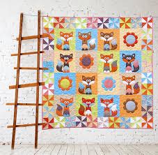 mr fox u0027s garden quilt patterns pdf pattern quilts fox