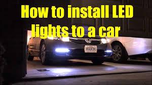 how to install led strip lights car led light strips installation and how to install flexible led