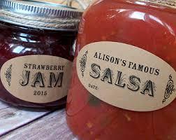 jar label etsy