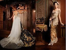 wedding dress batik fashion wedding dress batik style traditional ethnic brides