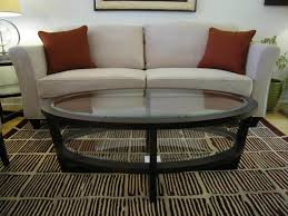 ethan allen glass coffee table ethan allen oval glass coffee table designs fence ideas