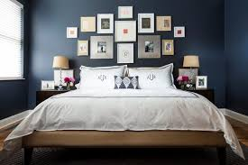 dark bedroom colors cocoa wall paint color black fur rug concrete