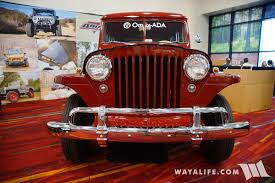 jeep station wagon 2016 sema omix ada willys jeep station wagon