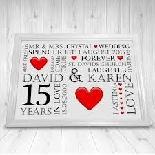 15th wedding anniversary ideas paper gift ideas u top st 15th wedding anniversary gift ideas