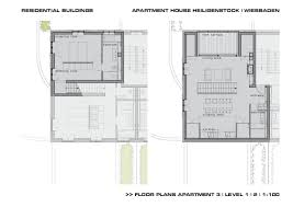 Residential Building Floor Plans by Gallery Of Residential Building At Heiligenstock Christ Christ 29