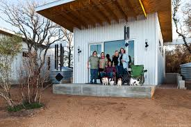 Tiny Houses Texas Stay At Tiny Home Commune U0027bestie Row U0027 In Texas