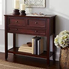 Pier One Console Table Ashington Small Console Table Mahogany Brown Pier 1 Imports