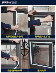 glass door stopper 8m window door seals weather strip door threshold bottom sweep