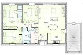 plan maison contemporaine plain pied 3 chambres plan maison neuve gratuit de traditionnelle plain pied 3 homewreckr co