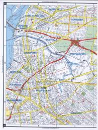 Road Map Of New York Western Queens Road Map