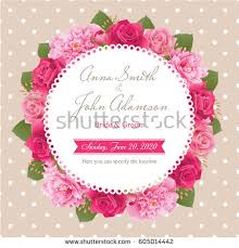 wedding card greetings wedding invitation card save date card stock vector 631656476