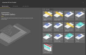 using templates google web designer help
