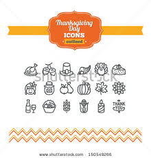 thanksgiving icons stock images royalty free images vectors