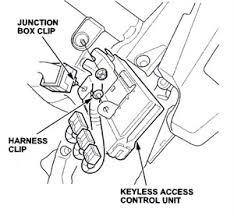 honda accord keyless entry honda keyless issues automotive service professional