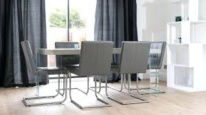 Dining Chairs Grey Grey Leather Chairs Dining Room Grey Upholstered Dining Chair