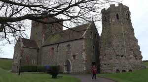 dover castle dover castle england st mary in castro church 4k 013 medieval