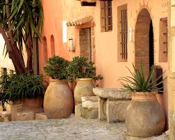Spanish Style Courtyards by Spanish Front Door Image Collections French Door Garage Door