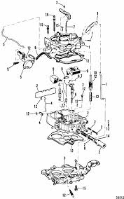 mercruiser 260 gm 350 v 8 1987 carburetor rochester 4 barrel parts