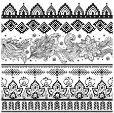 floral ornamental borders ai format free vector