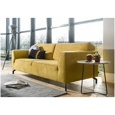 h et h canapé novara by h h canapé 3 places jaune monta pied noir abitare living