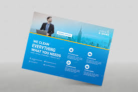 commercial cleaning brochure templates cleaning services brochure template by one graphics graphicriver
