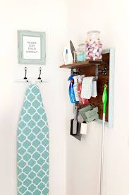 Laundry Room Storage Cart by Best 25 Ironing Board Storage Ideas On Pinterest Ironing Board