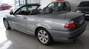 bmw 325 ci convertible 2 5l petrol manual bargain cars spain