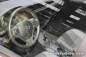 toyota auris 2018 toyota auris touring sports interior at iaa 2017 indian