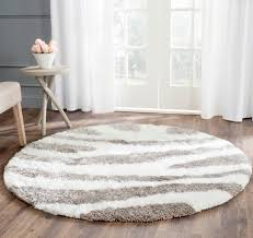8x10 White Rug White Fluffy Rug Builddirect Area Rugs Recycled Paper Shag Area