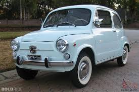 fiat multipla 600 fiat 600 car classics