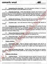 artist agreement contract cjl studios llc store artist
