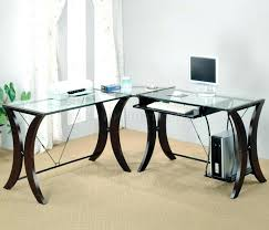 Office Depot Glass Desk Office Design Home Office Desk Glass Glass Office Desk Modern