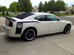 dodge charger louvers rear window louvers for a modern challenger charger