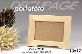cornice legno da decorare porta foto decoupage decupage cornice 17x13 cm legno da decorare