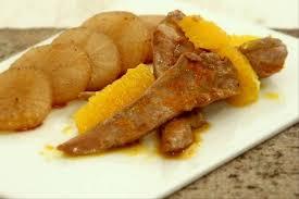 comment cuisiner les aiguillettes de canard recette de aiguillettes de canard à l orange palet de navet