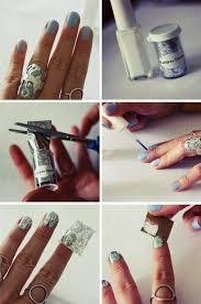 tutorial nail art foil onlinefashiontv beautiful nail art tutorials
