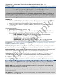 Resume Samples Higher Education by