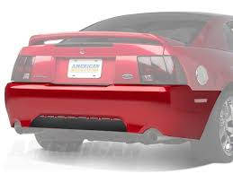 2004 mustang gt parts how to install a rear bumper cover unpainted on your 1999 2004